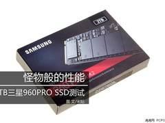 怪物般的性能 2TB三星960PRO SSD测试