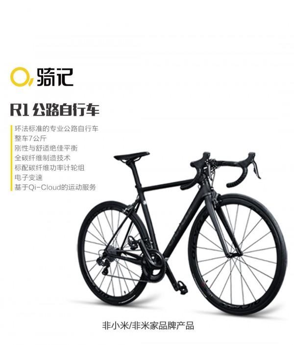 小米史上最贵产品QiCycle R1开卖:19999元