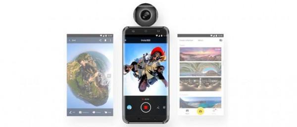 让手机变VR全景相机 Insta360 Air众筹