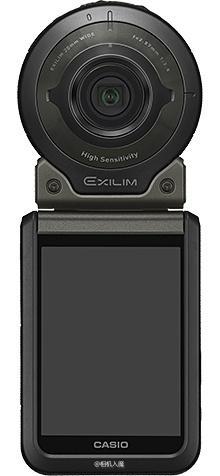 才190万像素?卡西欧发布新运动相机