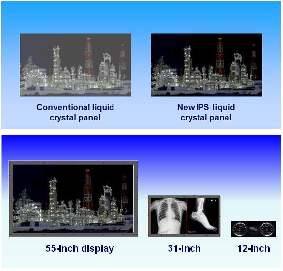 松下超级面板:对比度是传统IPS的600倍