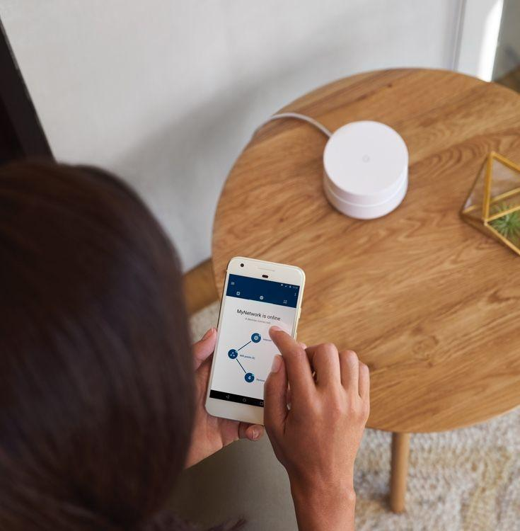 888元 别墅级智能路由器Google WiFi上市