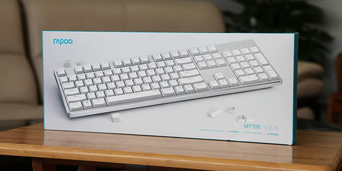多种模式随意切换 雷柏MT700三模办公机械键盘评测