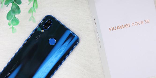 这可能是最漂亮的刘海屏手机 华为nova 3e开箱图赏