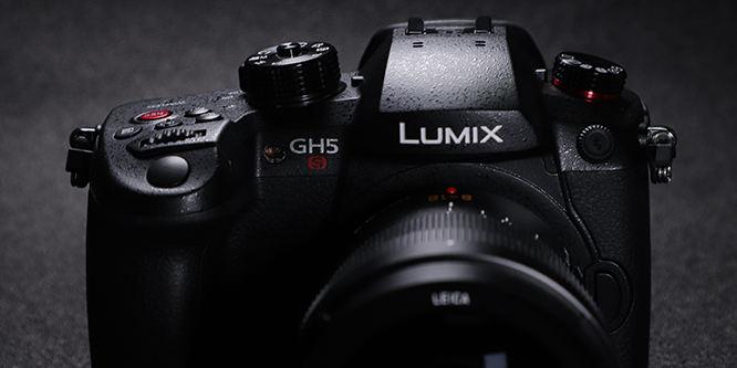 真正意义上的视频旗舰机 松下LUMIX GH5S外观图赏