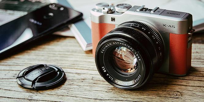文艺外形高画质还能美颜自拍 富士X-A5微单相机评测