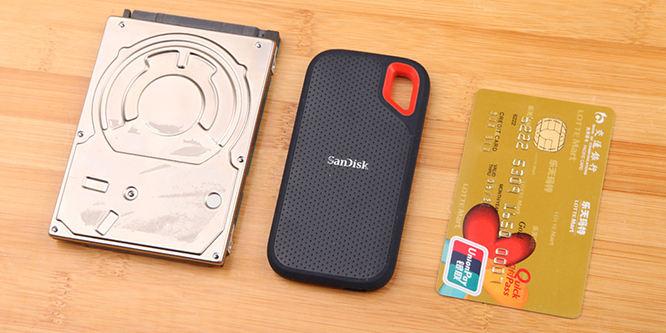移动存储设备的未来 闪迪极速移动固态硬盘评测