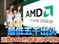 近期AMD热销本本导购