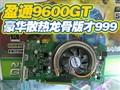盈通9600GT龙骨999元