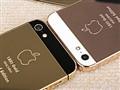 黄金版苹果iPhone5图赏