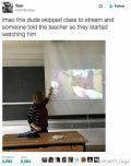 翘课直播玩《CS:GO》 老师带学生集体围观
