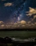 手持10秒拍摄的银河 清晰度与稳定度如同使用脚架