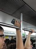 三星机皇Note 8惊现北京地铁 机器到底从何而来?