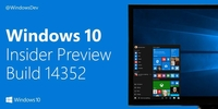 ����¹��� Windows 10 Build 14352����