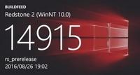 Win 10����ʯ2��Ԥ���� Build 14915 �ع�