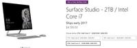 微软Surface Studio全部延迟至2017年发货