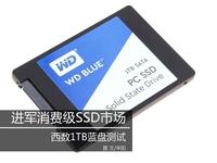 进军消费级SSD市场 西数1TB蓝盘测试