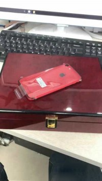 iPhone 7红色版本亮相 包装比手机贵