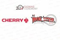 强强联手,著名品牌CHERRY签约KT电竞俱乐部