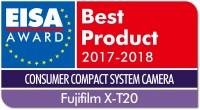 富士无反数码相机X-T20荣获2017年度EISA大奖