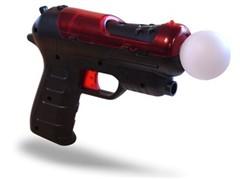力拼微软Kinect!PS3动作感应手枪曝光