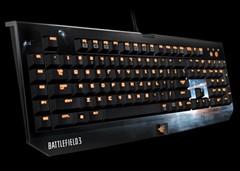 Razer最新游戏键盘!《战地3》黑寡妇