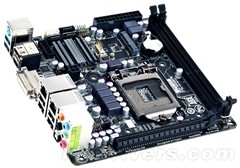 ITX也上双网卡:技嘉GA-B75N主板曝光