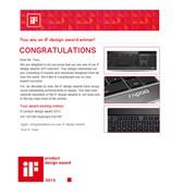 雷柏E9070P键盘 获2013年iF红点大奖