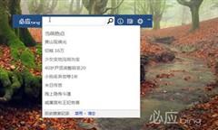 必应缤纷桌面 微软Bing Desktop V1.1