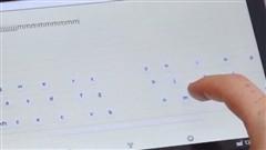 新虚拟键盘技术 手指在哪键盘就在哪