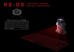 Star Wars R2-D2激光投影键盘真酷炫