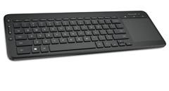 办公娱乐两不误 微软推新无线触控键盘