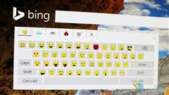 Bing将可能在搜索主页加入emoji键盘