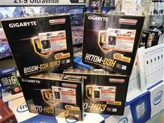 技嘉DDR3内存版H170、B150主板开卖了