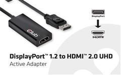 Club 3D推出DP转HDMI 2.0接口转换器