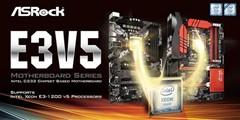 华擎发布Fatal1ty E3V5、E3V5 WS主板