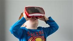儿童不适合佩戴VR 会带来不良身体反应