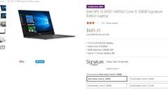 微软美国官方商城促销 新XPS 13只要5200元!