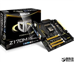 华擎Z170M OC Formula:支持DDR4-4500