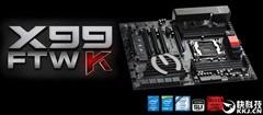 EVGA X99 FTWK主板发布:配备Type-C