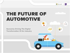 微软勾勒出汽车行业数字化转型的未来