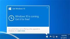 微软正式从Win7/8.1移除GWX升级应用