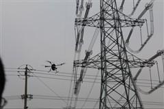 臻迪PowerQuadII四旋翼无人机完成特高压线路清障任务