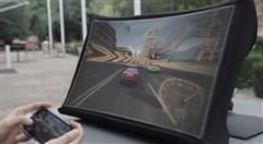SPUD便携投影:随时随地投射24英寸画面