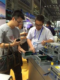 同方模块化服务器亮相第十八届高交会
