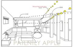 虚拟导航!苹果新专利完善室内绘图技术