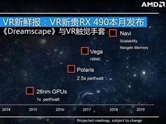 VR新鲜报:VR新贵RX 490显卡本月发布