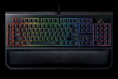 雷蛇升级黑寡妇蜘蛛幻彩版机械键盘