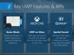 微软宣布年内Xbox One将得到UWP通用游戏支持