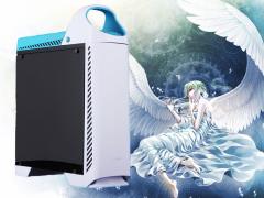 水晶般的颜值 鑫谷天使之恋baby机箱评测